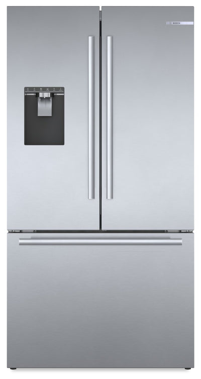 Bosch 21.6 Cu. Ft. Counter-Depth French-Door Refrigerator - B36CD50SNS - Refrigerator in Easy Clean Stainless Steel