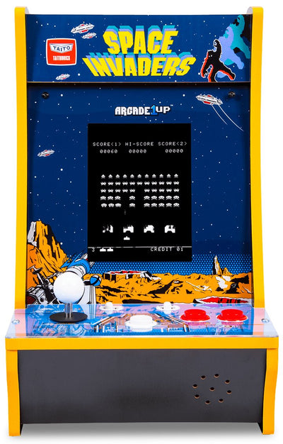 Arcade1Up Space Invaders™ Counter-Cade | Borne d'arcade de comptoir Space InvadersMC d'Arcade1UP  | SPACEICC
