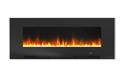 "Billy 50"" Wall-Mount Electric Fireplace  