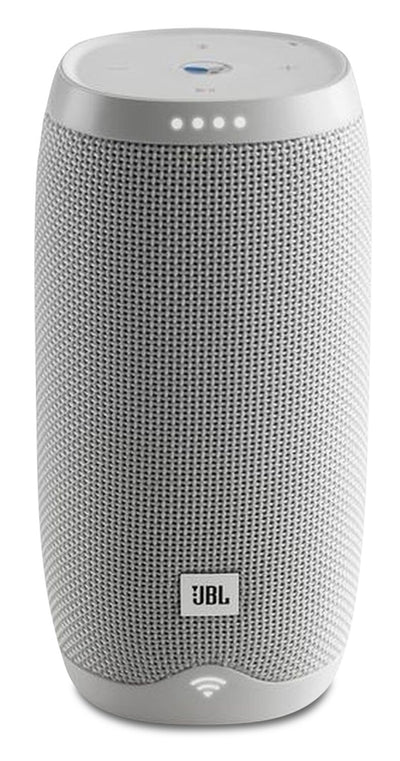 JBL Soundbar - JBL Link 10 Smart Speaker with Built-In Google Assistant - JBLLINK10WHTCA