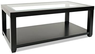 Corey Coffee Table – Black | Table à café Corey - noire | CORBKCTB