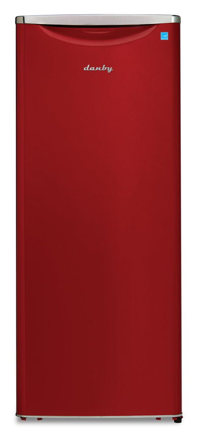 Danby 11 Cu. Ft. Contemporary Classic Apartment-Size Refrigerator - DAR110A3LDB - Refrigerator in Red