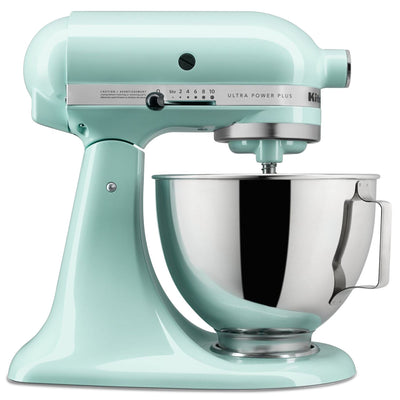 KitchenAid Ultra Power® Plus Series 4.5-Quart Tilt-Head Stand Mixer - KSM96IC - Mixer in Ice Blue