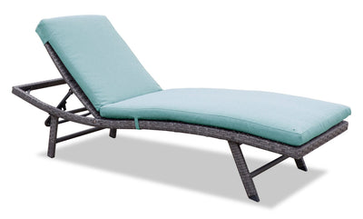 Costa Lounger - Blue | Chaise longue Costa - bleue | COSTA0LG