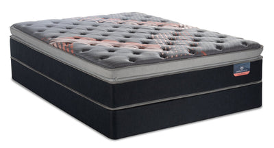 Serta Perfect Sleeper Performance Pulse Pillowtop Queen Mattress Set