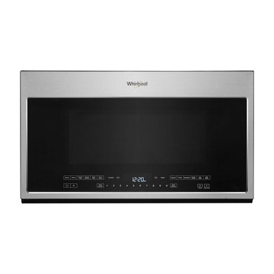 Whirlpool 2.1 Cu. Ft. Over-the-Range Microwave with Steam Cooking - YWMH54521JZ - Over-the-Range Microwave in Fingerprint Resistant Stainless Steel