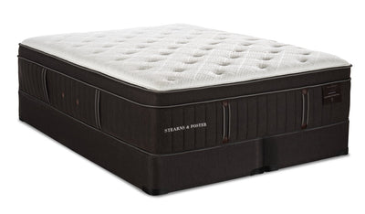 Stearns & Foster Founders Collection Silver Coast Eurotop Split Queen Mattress Set