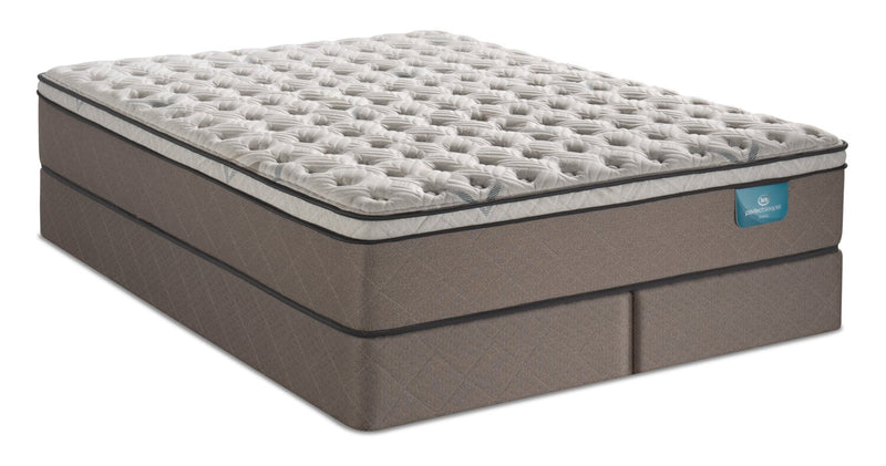 Serta Perfect Sleeper Oasis Rejuvenate Eurotop King Mattress Set