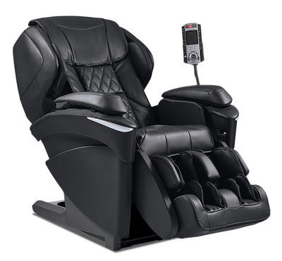Panasonic High-Quality Synthetic Leather Real Pro ULTRA Prestige™ Massage Chair - Black