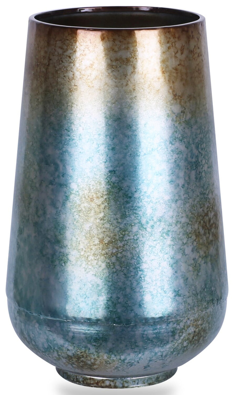 Small Blue and Brown Vase | Petit vase bleu et brun | 779713VS