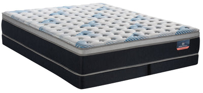 Serta Perfect Sleeper Performance Focus Eurotop Low-Profile Split Queen Mattress Set