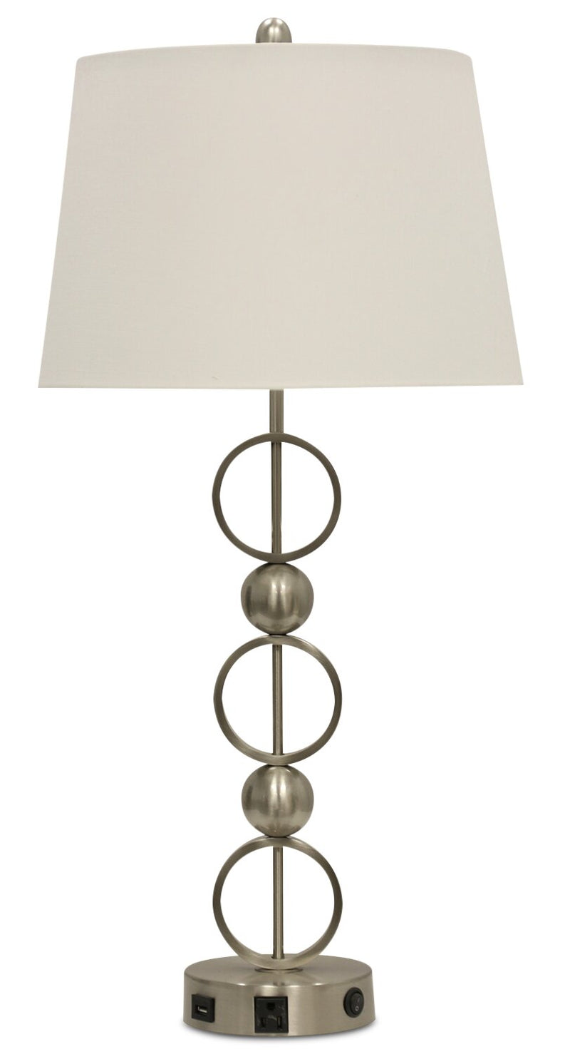 Gina Table Lamp | Lampe de table Gina | GINASNTL