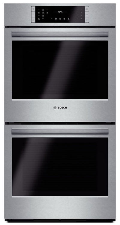 "Bosch® 27"" Double Wall Oven - Stainless Steel - Double Wall Oven in Stainless Steel"