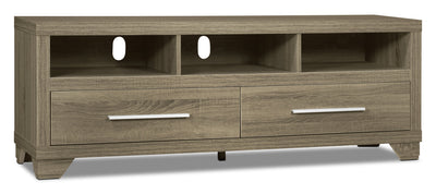 "Glendale 60"" TV Stand – Grey - Modern style TV Stand in Grey"