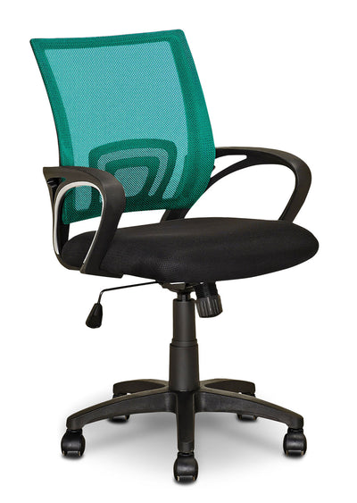Loft Mesh Office Chair – Teal|Chaise de bureau Loft en mailles - bleu sarcelle|LOFTLCHR