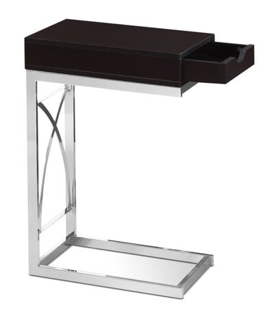 Turin Accent Table – Cappuccino|Table d'appoint Turin - cappuccino|TURCPCST