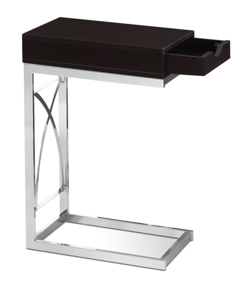 Turin Accent Table – Cappuccino|Table d'appoint Turin - cappuccino
