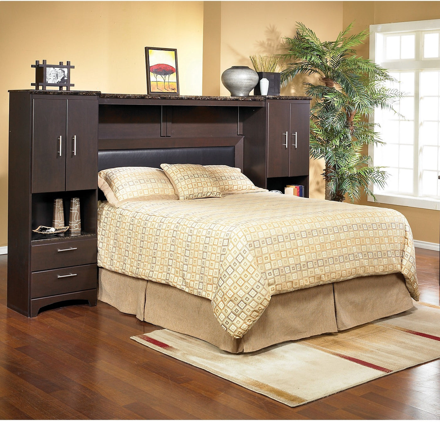 Oxford Queen Wall Bed With Piers The Brick
