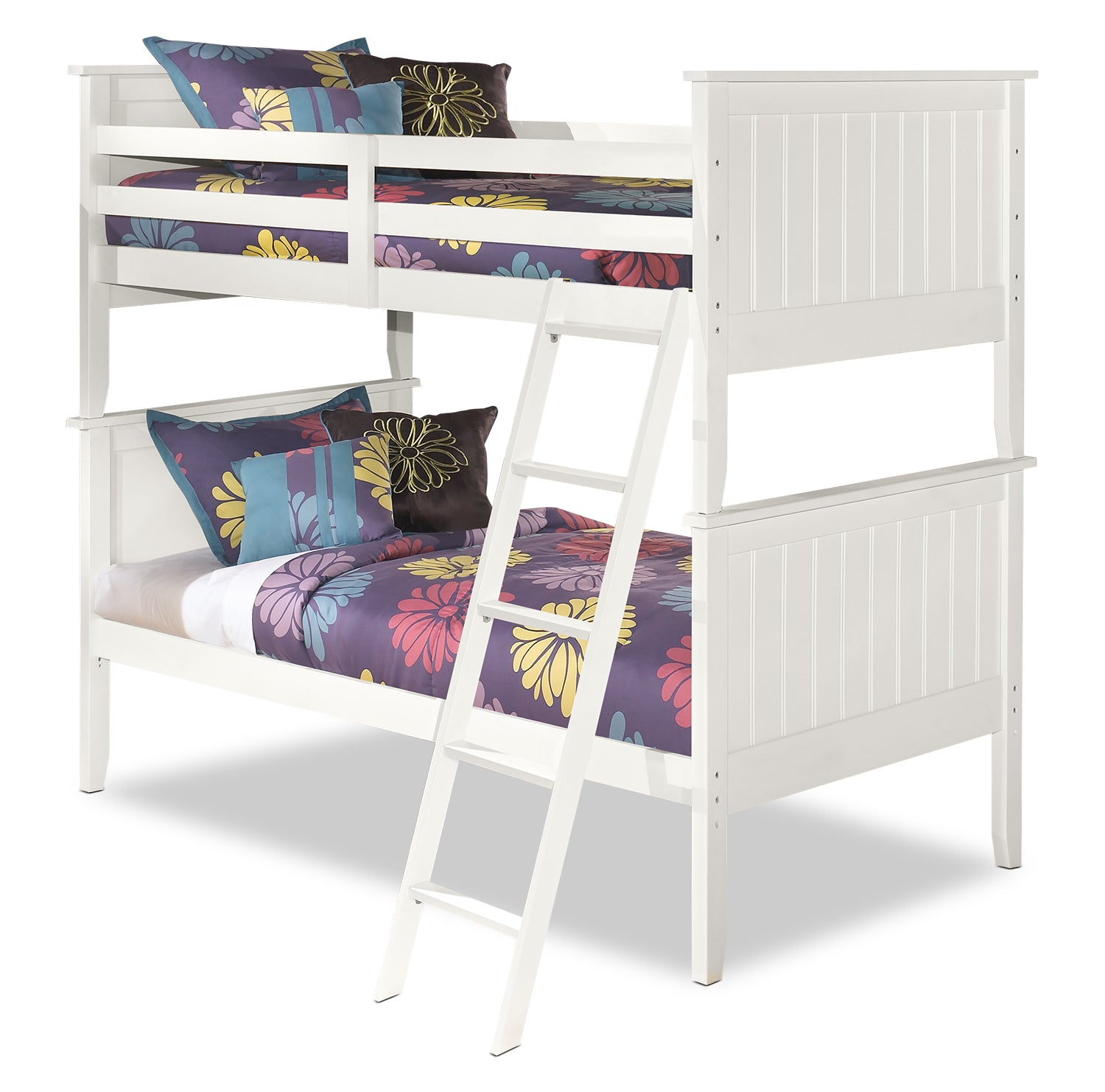 Lulu Twin Bunk Bed The Brick