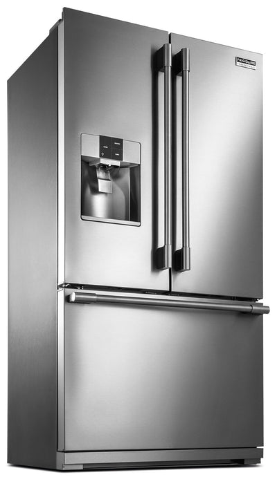 Frigidaire Professional 22.6 Cu. Ft. Refrigerator with Ice/Water Dispenser - Refrigerator with Exterior Water/Ice Dispenser, Ice Maker in Stainless Steel