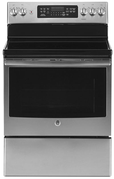 GE 5.0 Cu. Ft. Freestanding Electric Range – JCB840SKSS - Electric Range in Stainless Steel