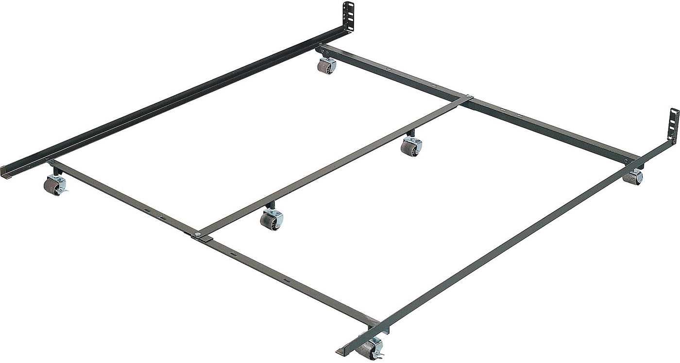 Twin Full Queen Low Profile Bed Frame The Brick