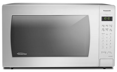 Panasonic Genius® 2.2 Cu. Ft. Inverter® Countertop Microwave – NN-ST966W - Countertop Microwave in White
