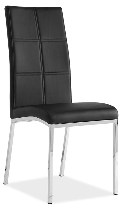 Milton Side Chair – Black|Chaise Milton - noire|MILTBDSC