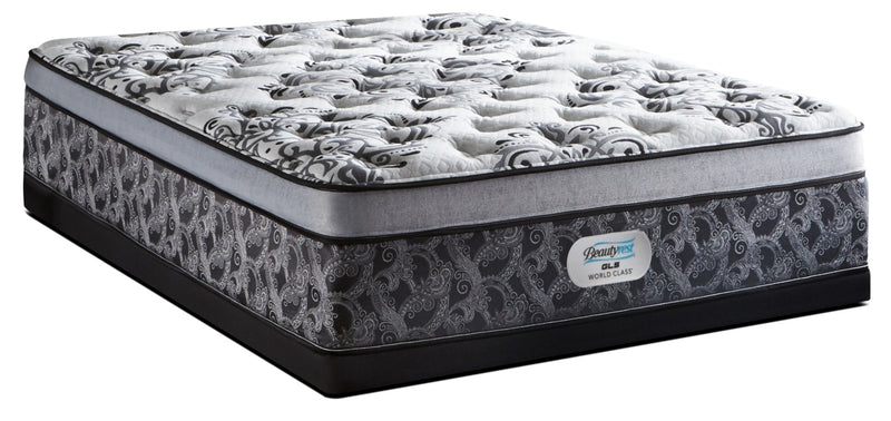 Beautyrest GL5 World Class Genesis Euro-Top Firm Twin Mattress Set|Ensemble matelas ferme à Euro-plateau GL5 Genesis de Beautyrest World Class pour lit simple