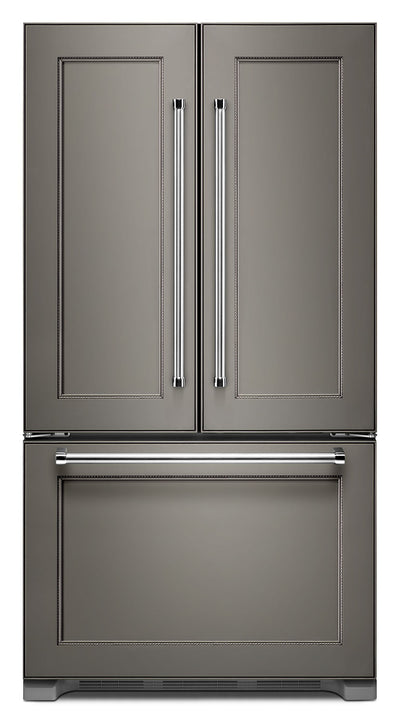 KitchenAid 22 Cu. Ft. French Door Refrigerator with Interior Dispenser - Panel-Ready - Refrigerator in Panel Ready