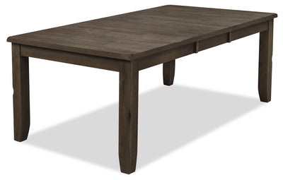 Talia Dining Table - Grey Brown|Table de salle à manger Talia - gris-brun|TALIGDTL