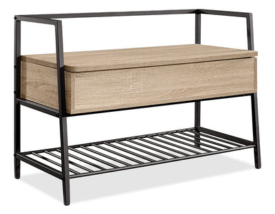 North Avenue Storage Bench|Banc de rangement North Avenue|NORTHBNC