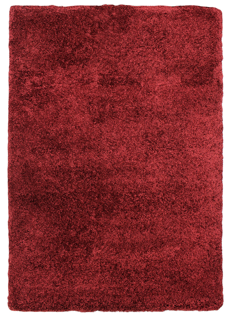 Loft Red Shag Area Rug – 5' x 8'|Carpette à poil long Loft rouge – 5 pi x 8 pi