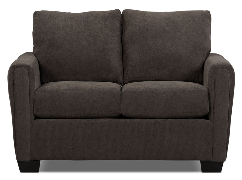 Spa Collection Chenille Loveseat – Charcoal|Causeuse de la collection Spa en chenille - anthracite|SPAF2CLV