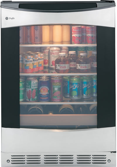 GE Profile 5.5 Cu. Ft. Beverage Centre - Stainless Steel - Refrigerator in Stainless Steel
