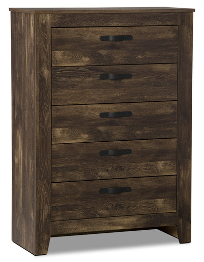 Remie Chest - Rustic style Chest in Oak Engineered Wood and Laminate Veneers