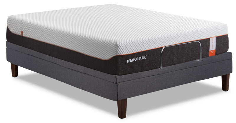 Tempur-Pedic™ TEMPUR-Gratitude Queen Mattress with Reflexion™ Tuxedo Adjustable Base|Matelas TEMPUR-Gratitude de Tempur-Pedic pour grand lit avec base ajustable Reflexion Tuxedo