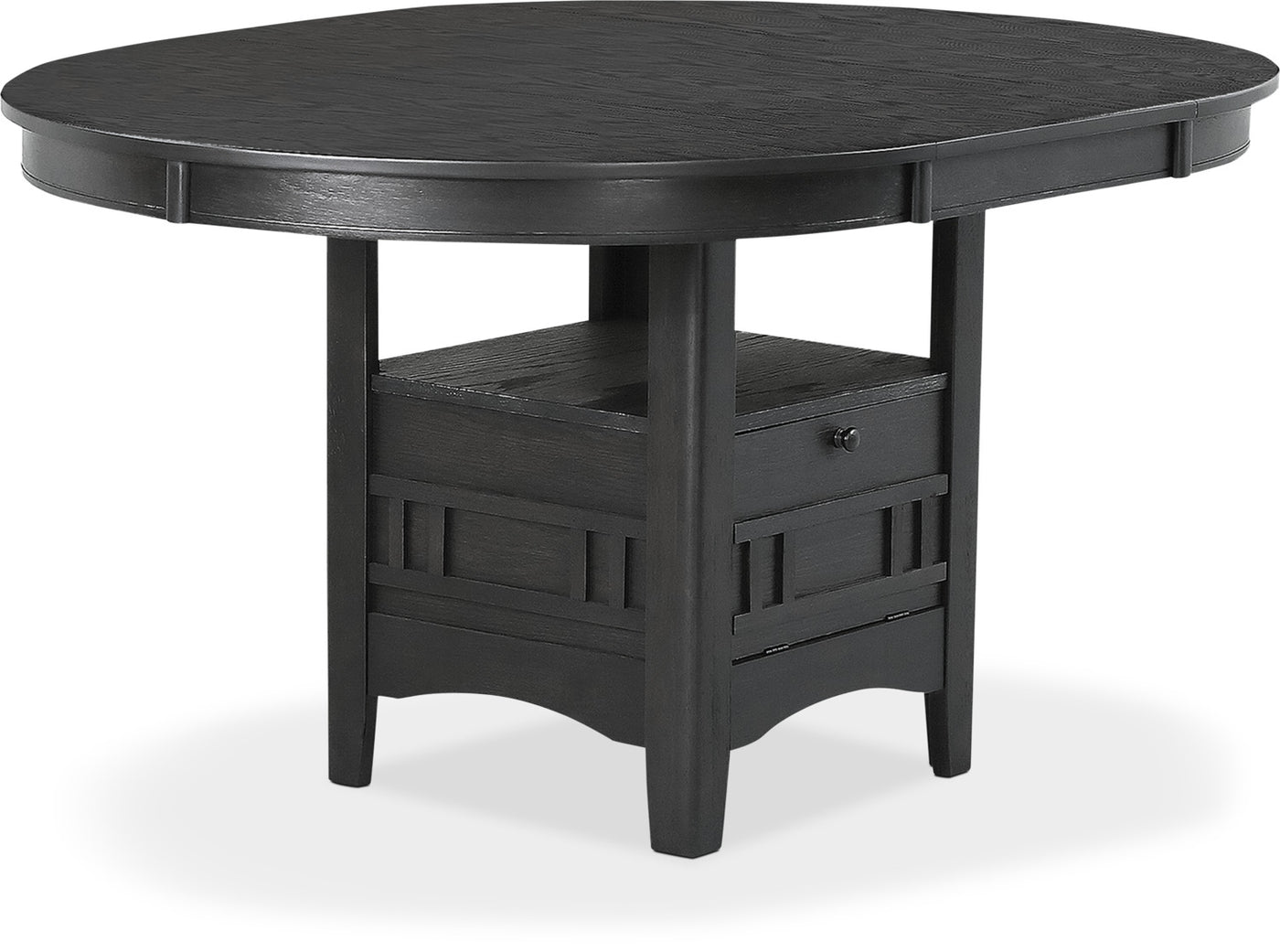 Astonishing Desi Dining Table Charcoal Ocoug Best Dining Table And Chair Ideas Images Ocougorg