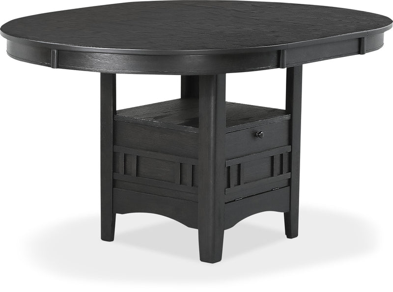 Desi Dining Table – Charcoal|Table de salle à manger Desi – brune