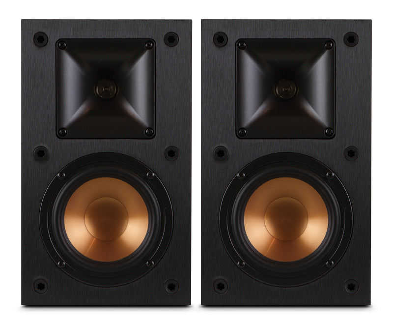 Klipsch® 200W R-14M Monitor Speaker – Set of 2|Haut-parleurs moniteurs R-14M 200 W de Klipsch - ensemble de 2