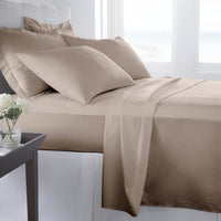 300 Thread Count King Sheet Set - Taupe
