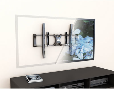 "CorLiving Adjustable 36"" - 55"" Fixed Flat Panel TV Wall Mount – Black