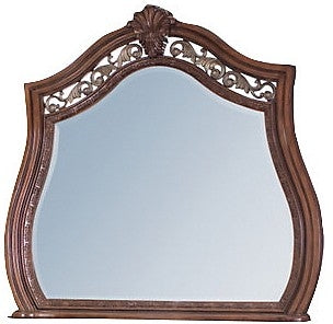 Morocco Mirror - Traditional style Mirror in Heritage Brown