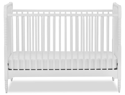 Rowan Valley Crib – White - Country style Crib in White Wood