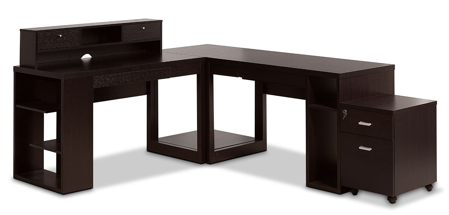 Peyton 5-Piece Desk Package | The Brick