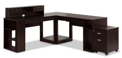 Peyton 5-Piece Desk Package|Ensemble de bureau Peyton 5 pièces|1006DPK5