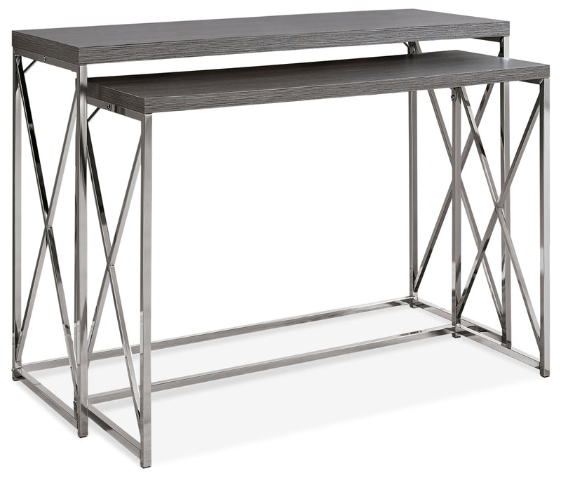 Jersey 2-Piece Sofa Table|Consoles gigognes Jersey