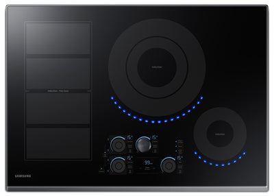 "Samsung 30"" Induction Cooktop with Virtual Flame Technology™ – NZ30K7880UG"