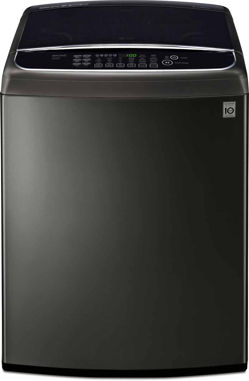 LG 5.8 Cu. Ft. Top-Load Washer with TurboWash™ – WT1901CK|Laveuse LG à chargement par le haut de 5,8 pi3 avec technologie TurboWashMC – WT1901CK