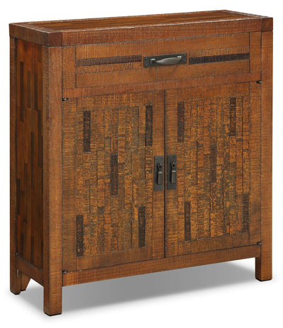 Acacia 2-Door Accent Cabinet – Brown|Armoire décorative Acacia à 2 portes - brune|ACABRACC